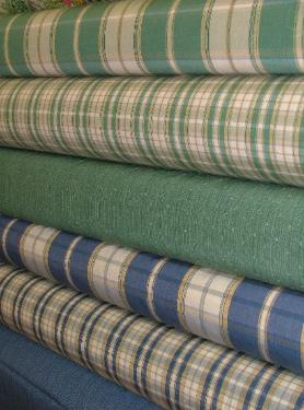 upholstery fabric rolls at Schindlers